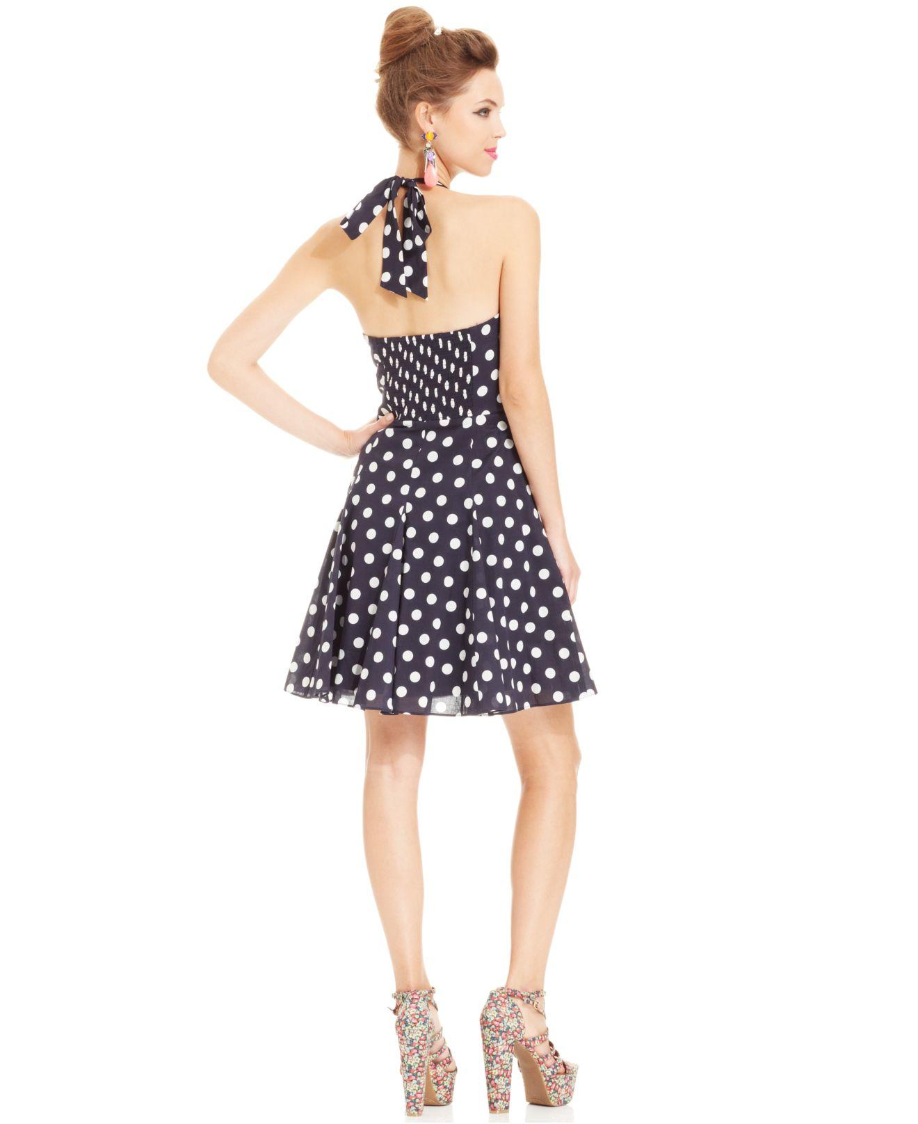 Black dress kisschasy lyrics - Blue Betsey Johnson Halter Dress