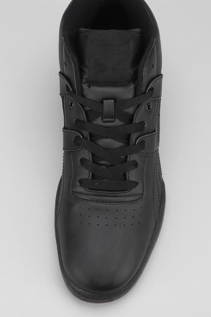 849fd6e10c2 Lyst - Urban Outfitters Reebok Workout Midtop Sneaker in Black for Men