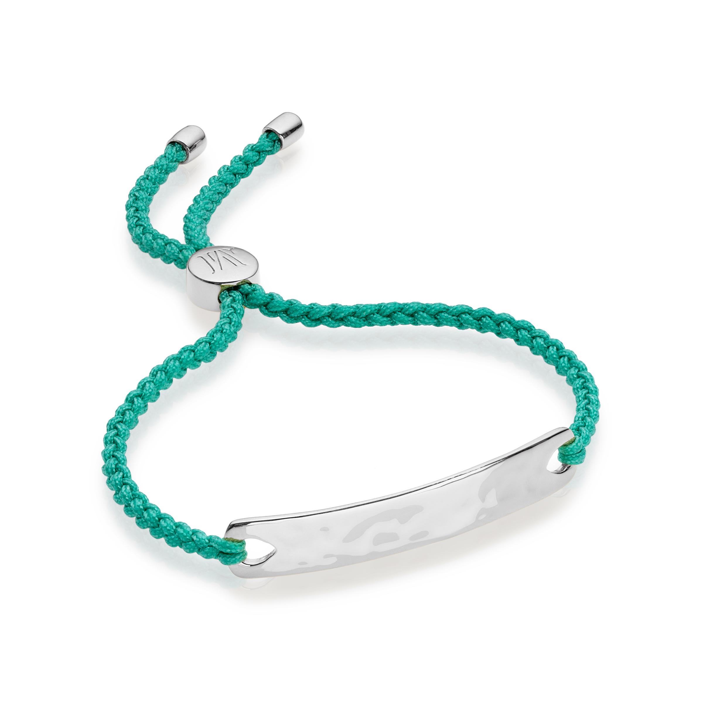 vinader friendship bracelet in metallic lyst