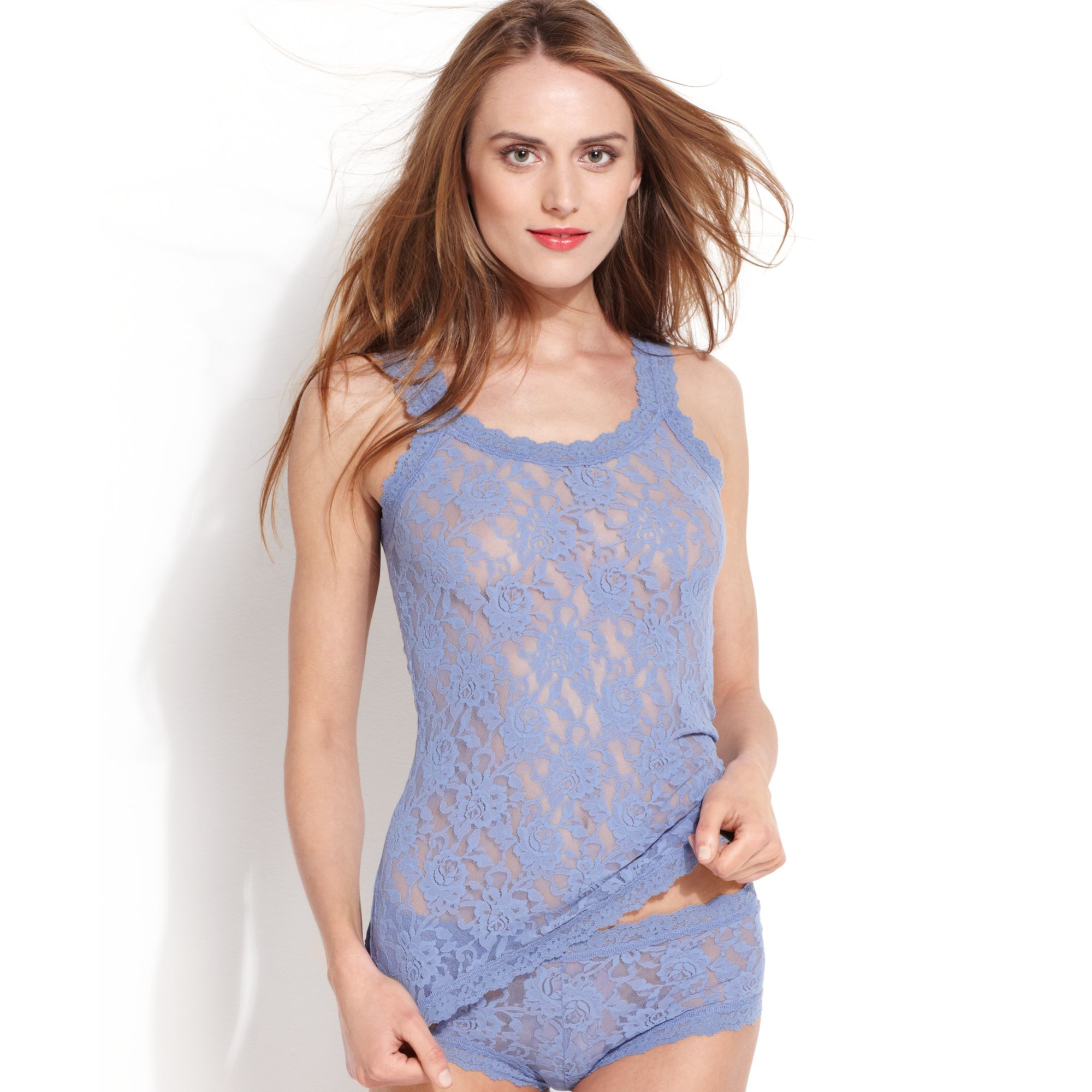 Hanky panky Signature Lace Camisole 1390l in Blue (Chambray) | Lyst