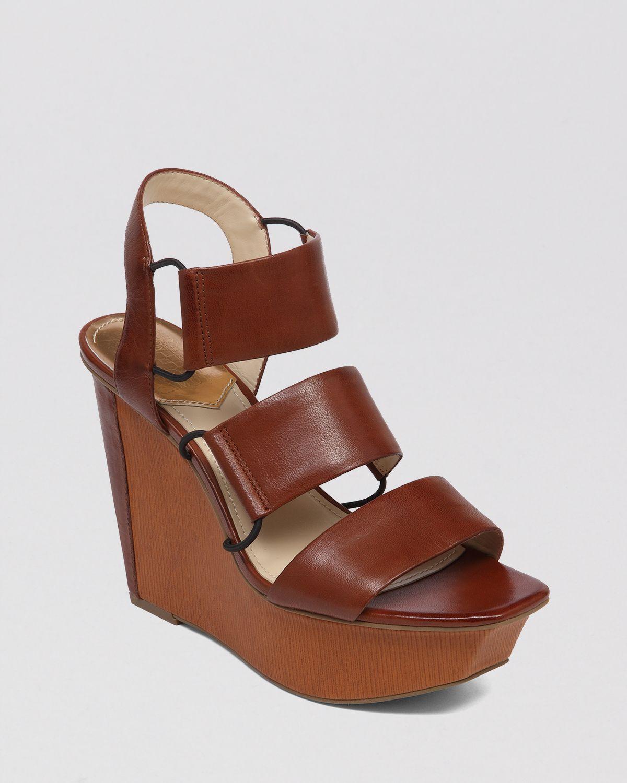 Lyst Vince Camuto Open Toe Platform Wedge Sandals