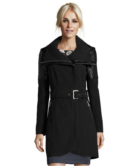 Black coat zip – Fashionable jacket 2017 photo blog