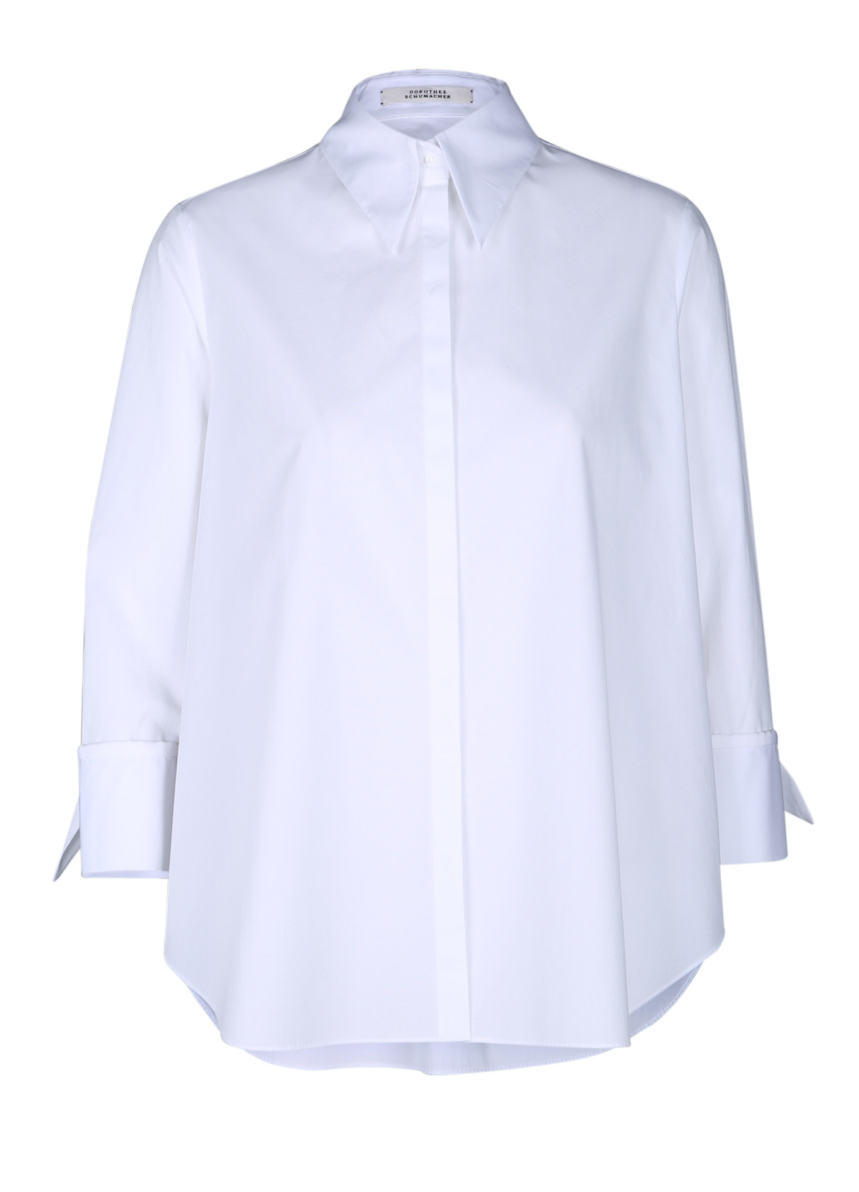 Dorothee schumacher Hybrid Flora Blouse 3/4 in White