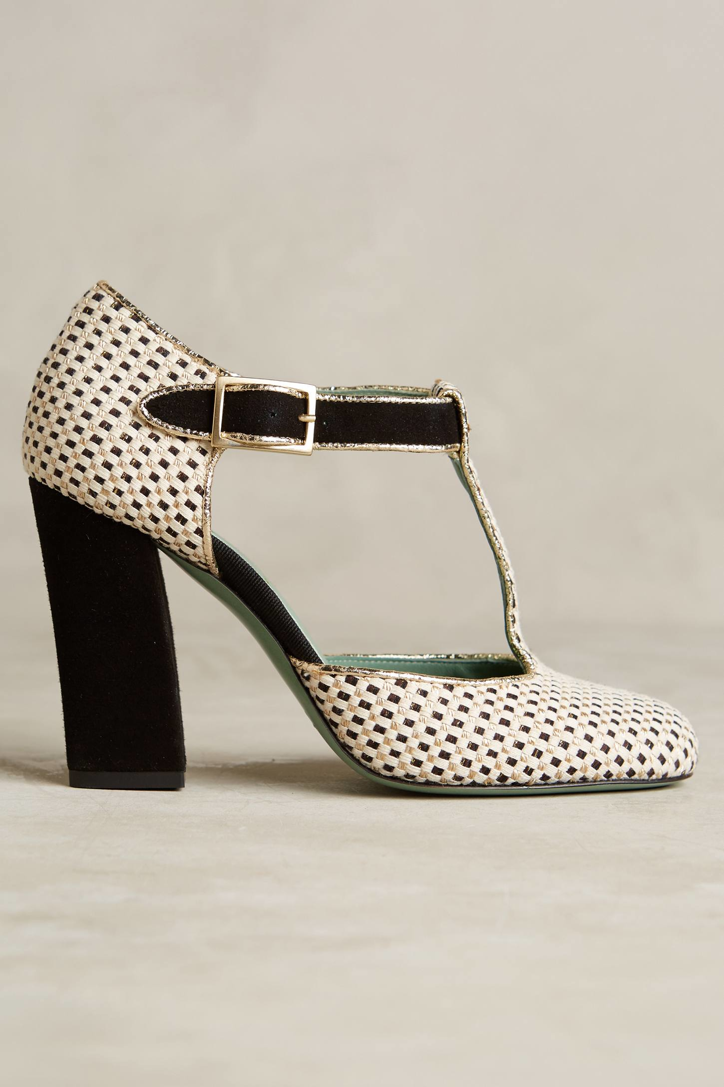 ankle strap pumps - Metallic Paola d'Arcano