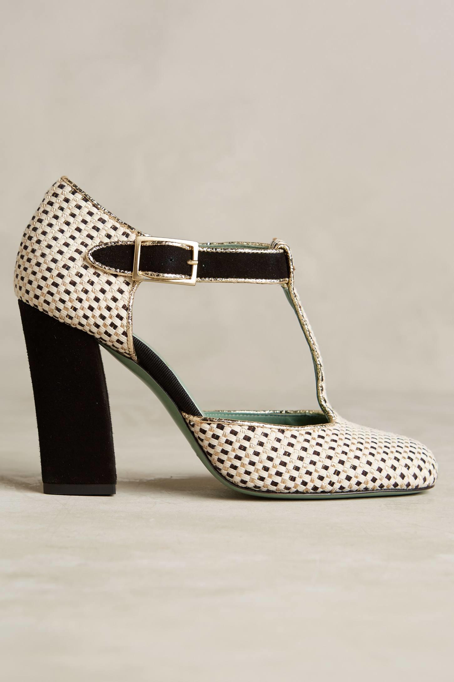 ankle strap pumps - Metallic Paola d'Arcano YWpstV