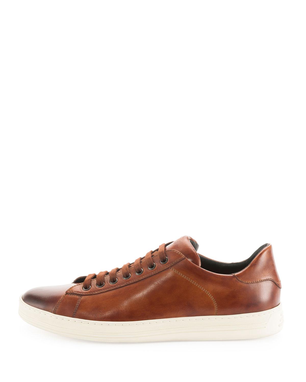 Tom Ford Sneakers leather darkblue TMXCCa6