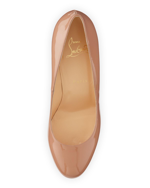 chris louboutin shoes - christian louboutin bianca studded leather platform pumps ...