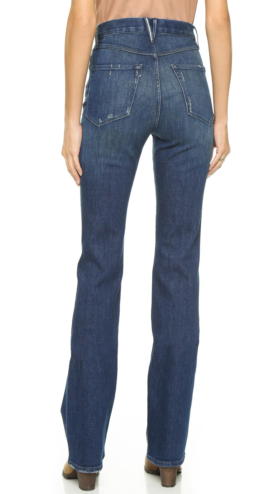high-rise flared jeans - Blue 3x1 5CMPy