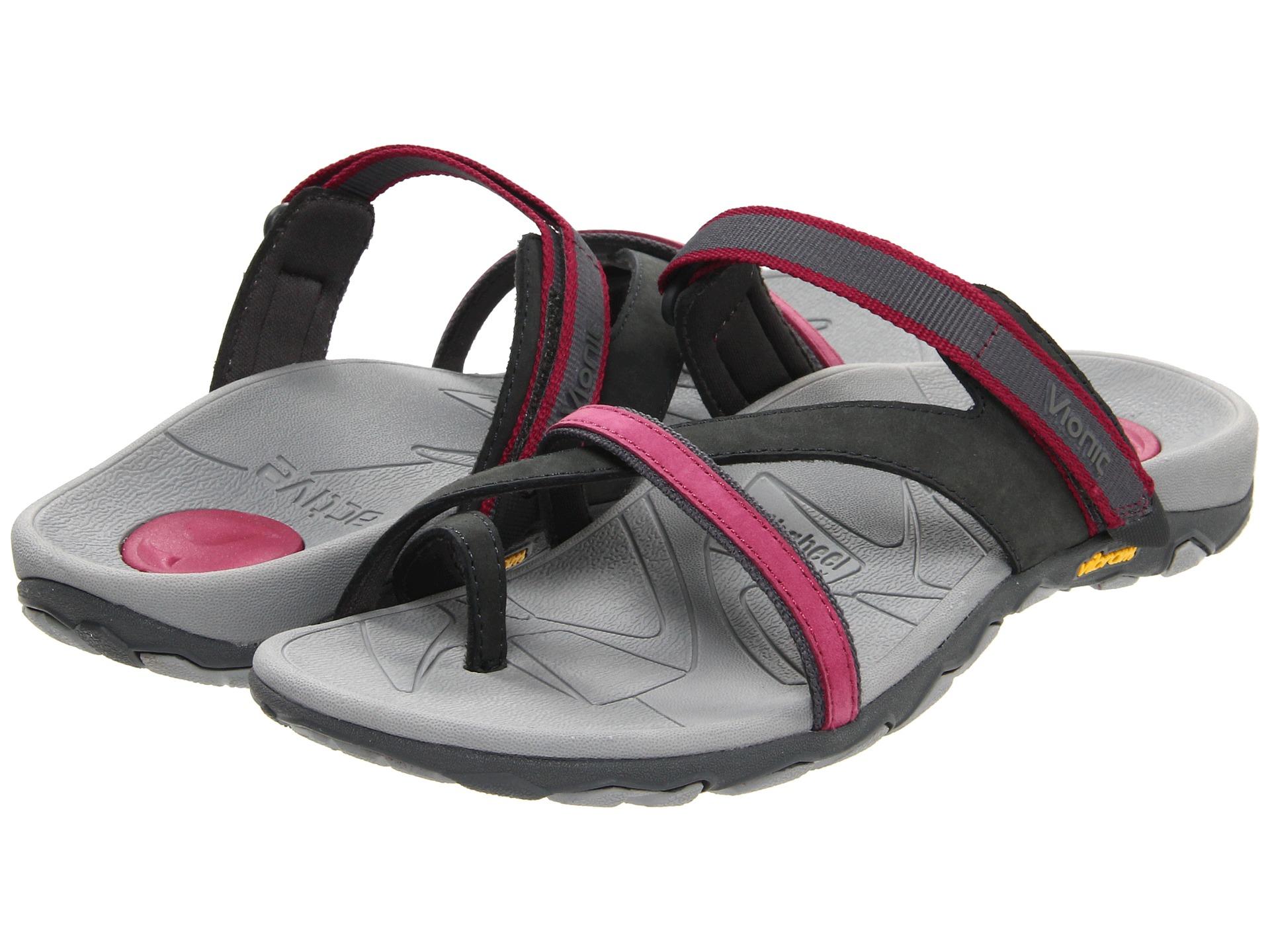 35da2409b874 Lyst - Vionic Mojave ™ Sport Recovery Toepost Sandal in Gray