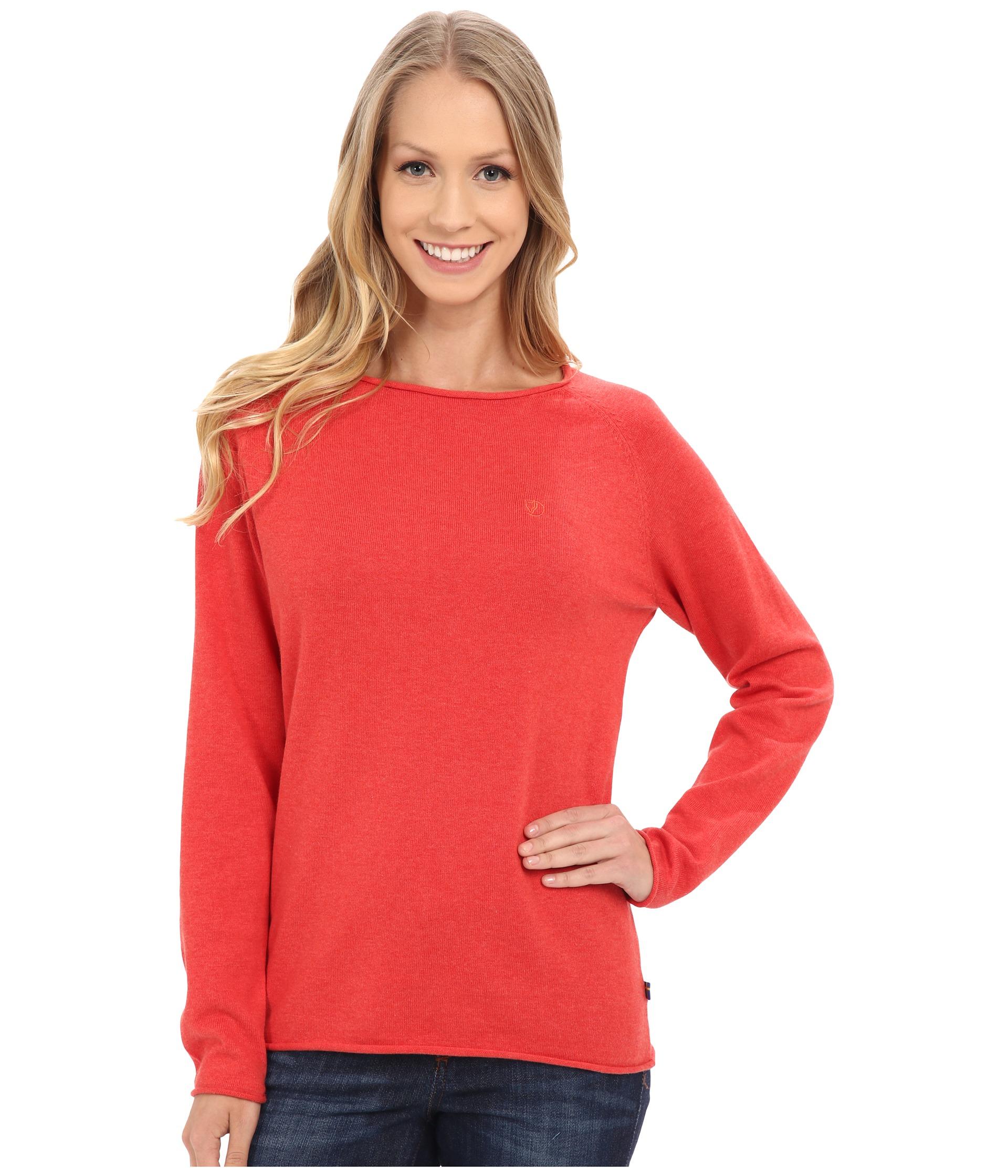 Fjallraven Övik Sweater in Pink | Lyst
