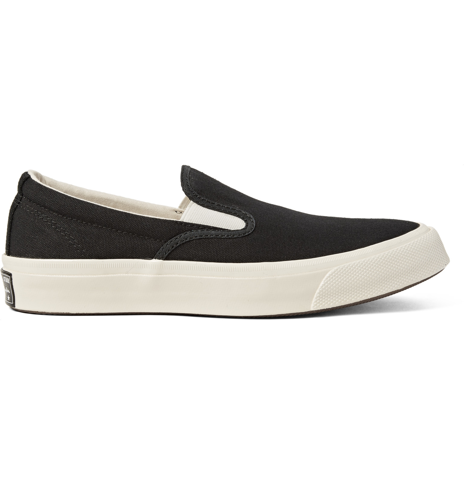 1840b5d88df Converse Deck Star  67 Canvas Slip-on Sneakers in Black for Men - Lyst