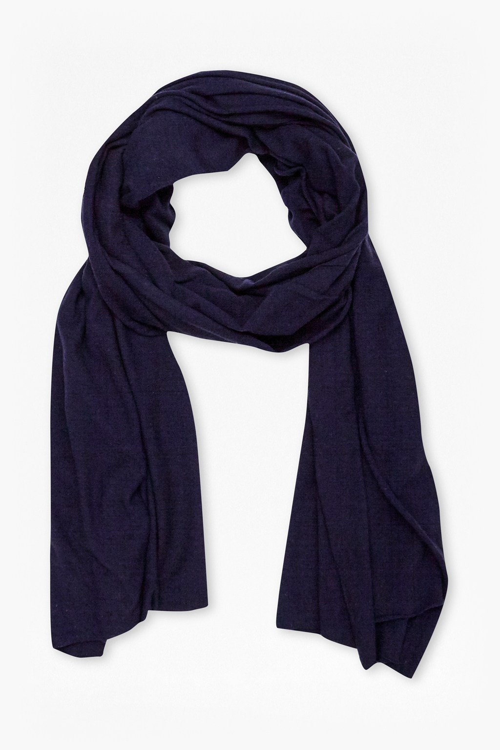 connection walter linen blend scarf in purple for