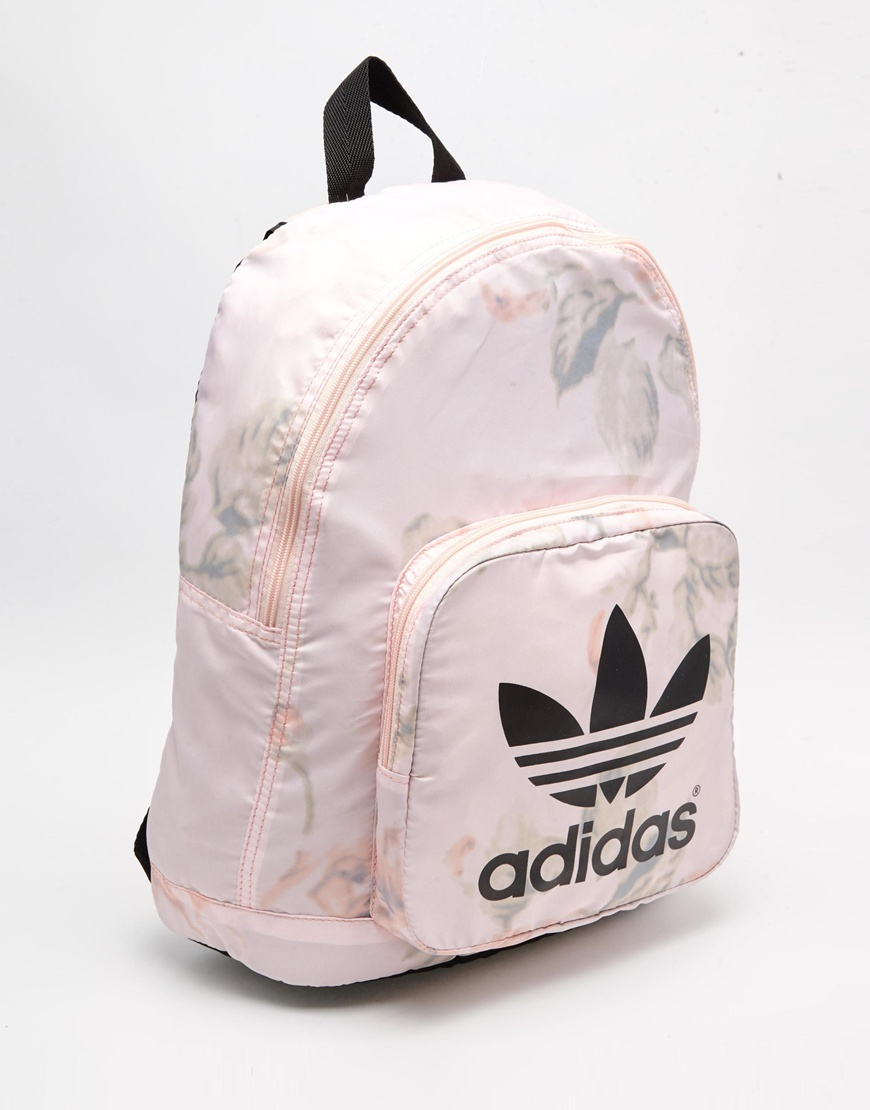 adidas originals pastel rose backpack in pink lyst