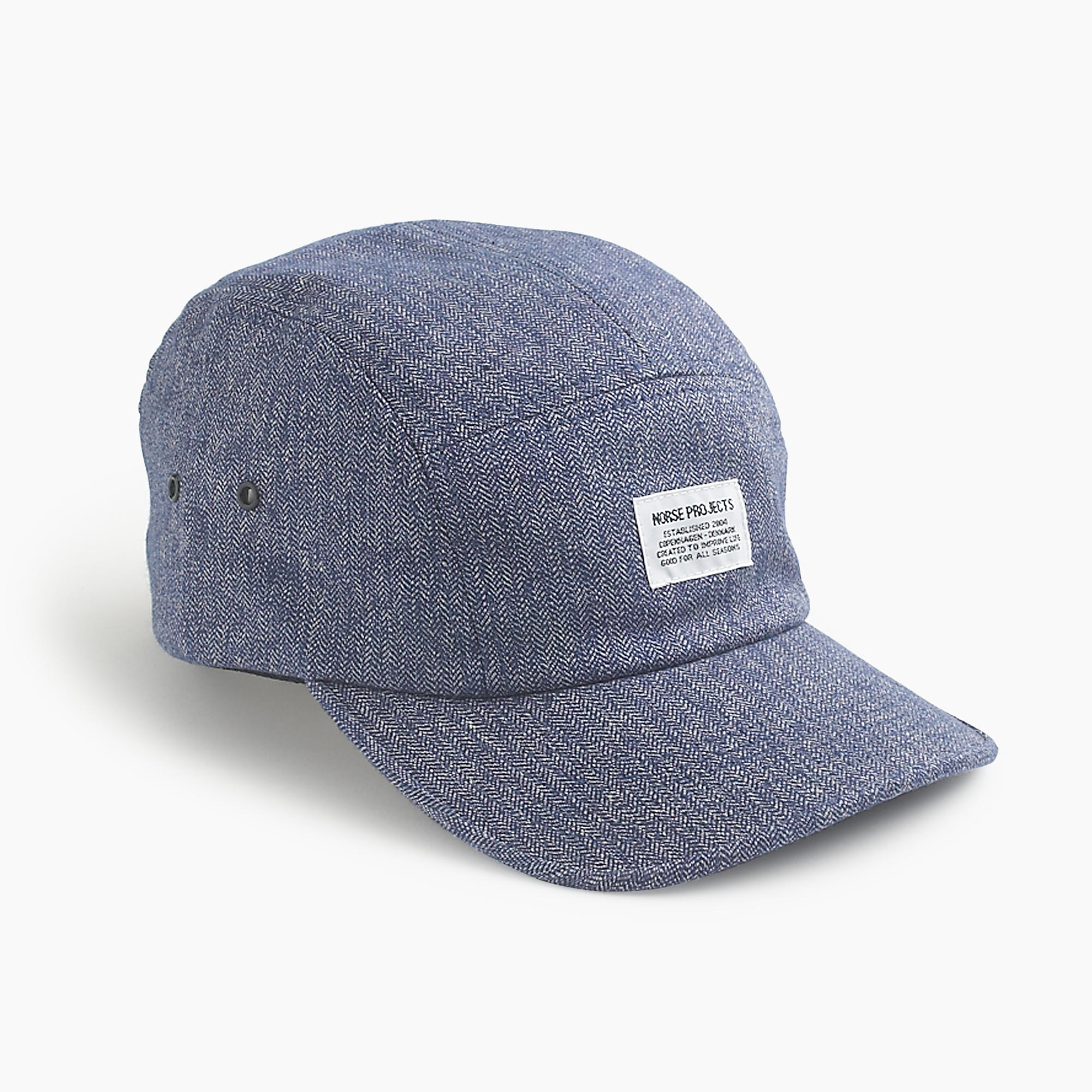 17c58b487b5 Lyst - J.Crew Norse Projects Five-panel Cap in Blue for Men