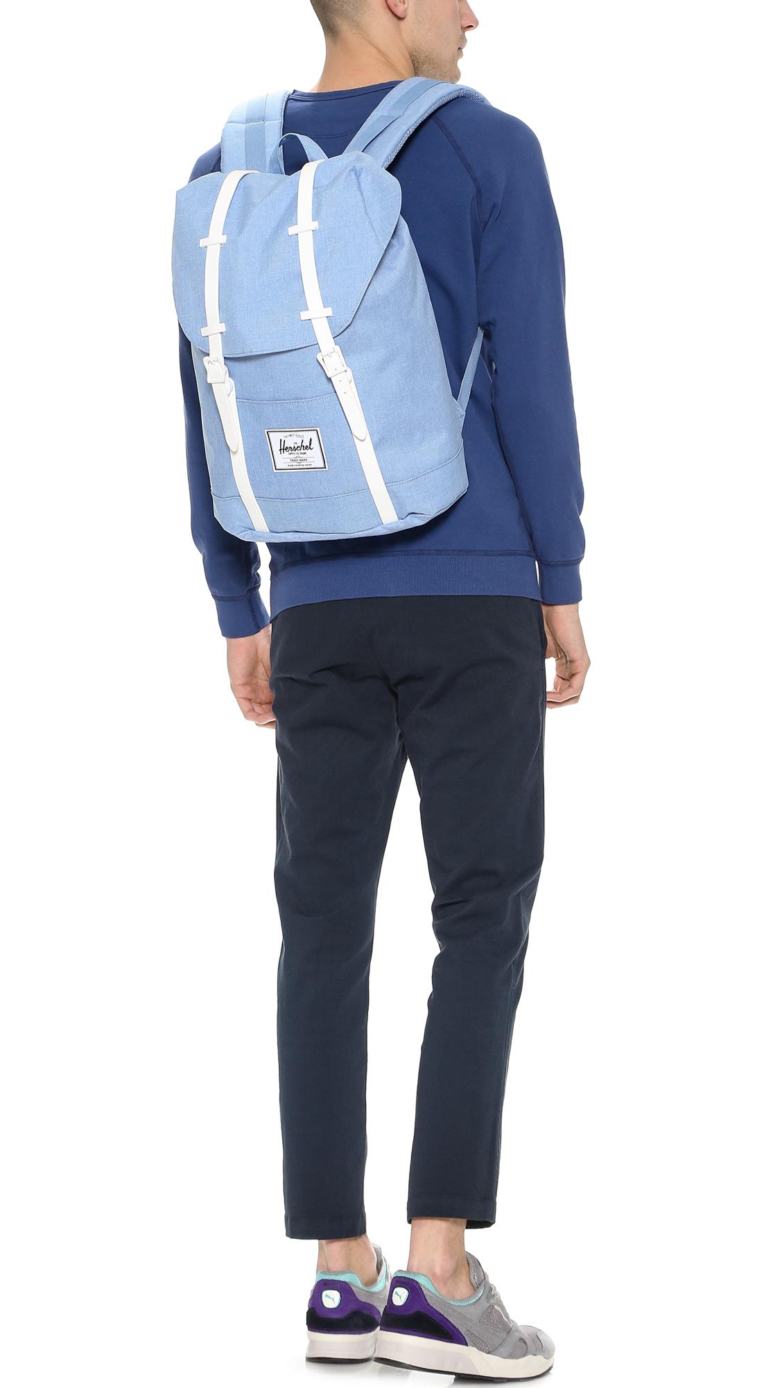 f276610b2882 Lyst - Herschel Supply Co. Retreat Backpack in Blue for Men