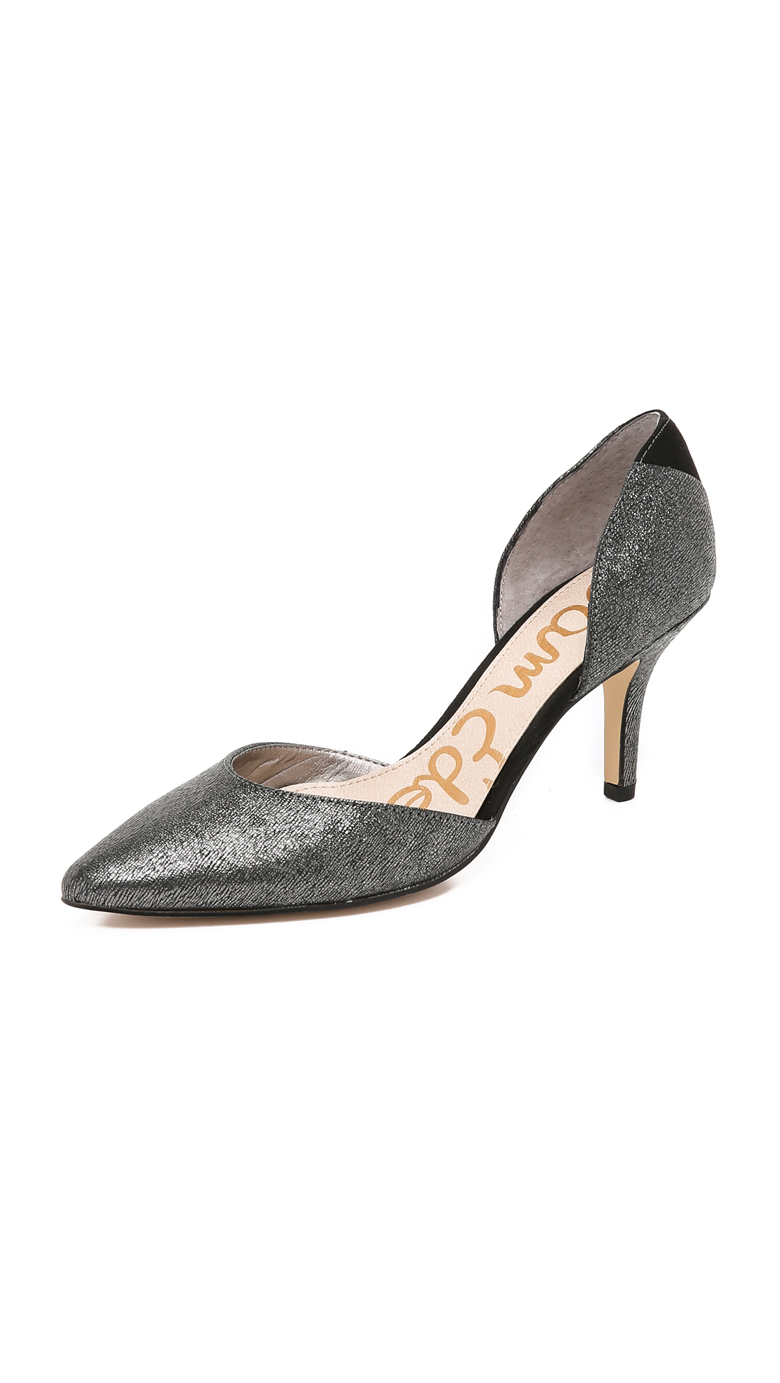 Lyst Sam Edelman Opal D Orsay Pumps In Metallic