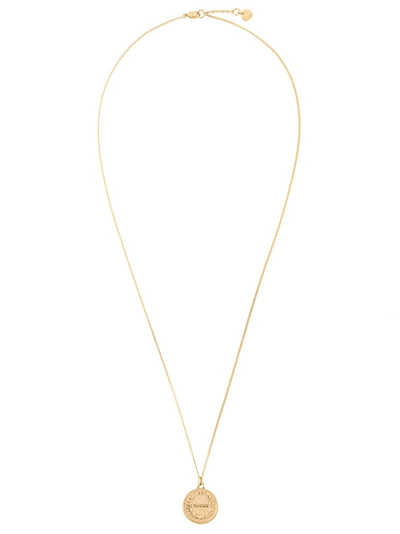 in gallery lyst charm money a p metallic c apc jewelry necklace