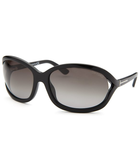 tom ford women 39 s vivienne oval black sunglasses in black lyst. Cars Review. Best American Auto & Cars Review