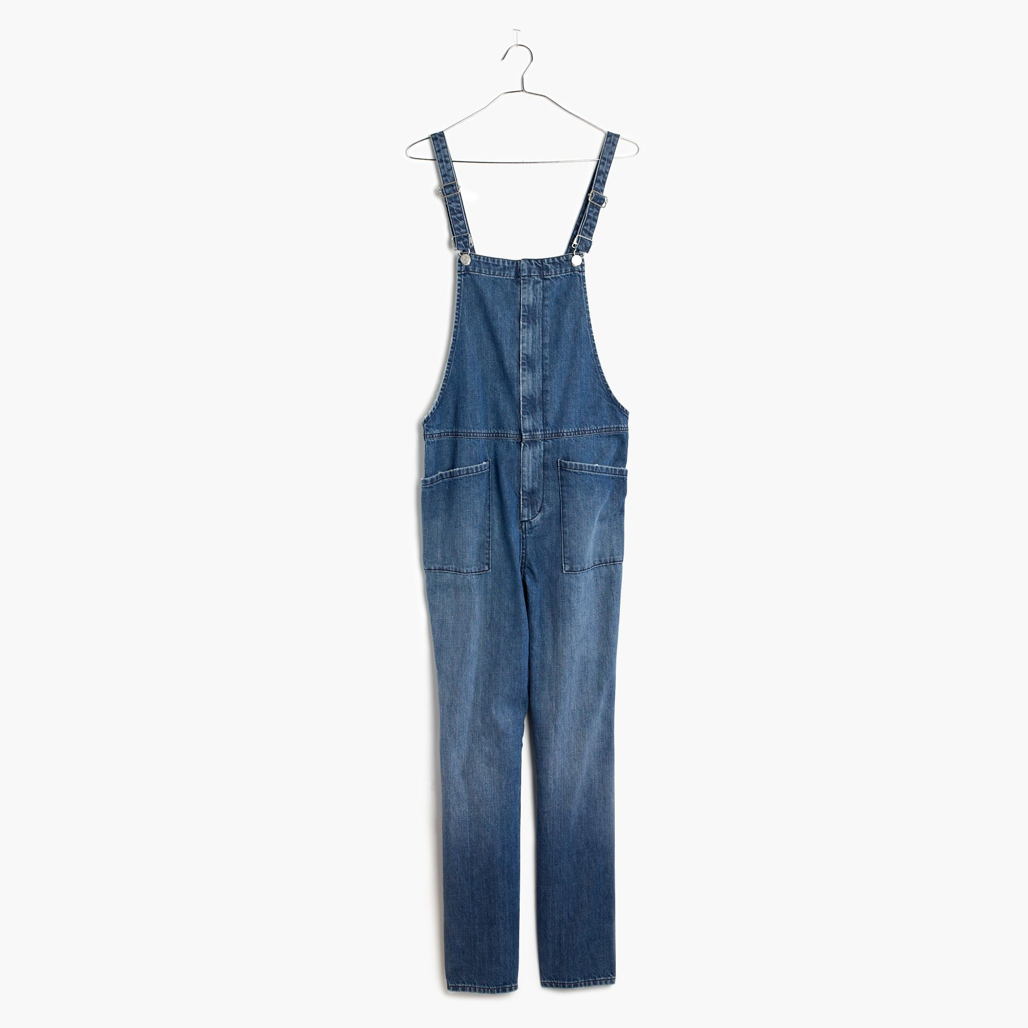 40099005661 Lyst - Madewell Dungaree Overalls in Blue