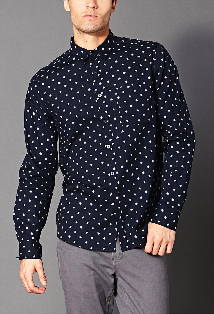 Mens High Low Shirt