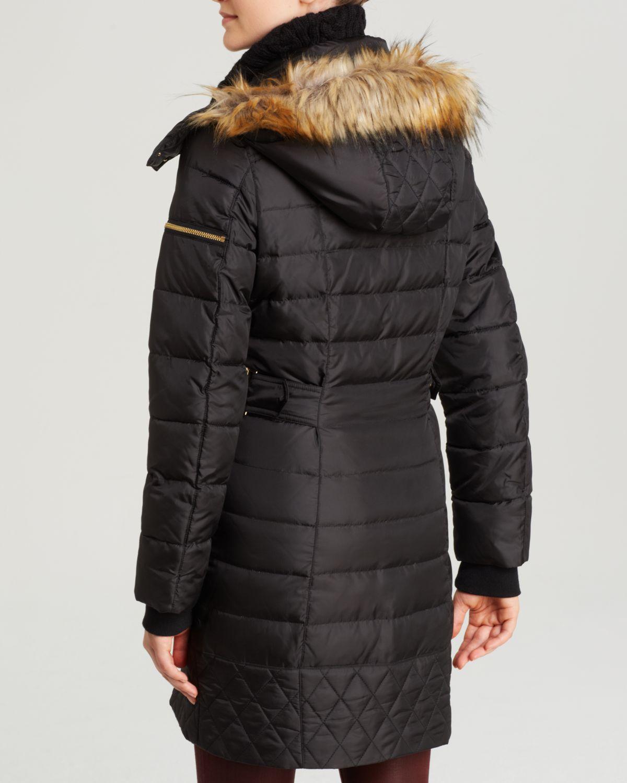 Lyst Sam Edelman Puffer Coat Lara In Black