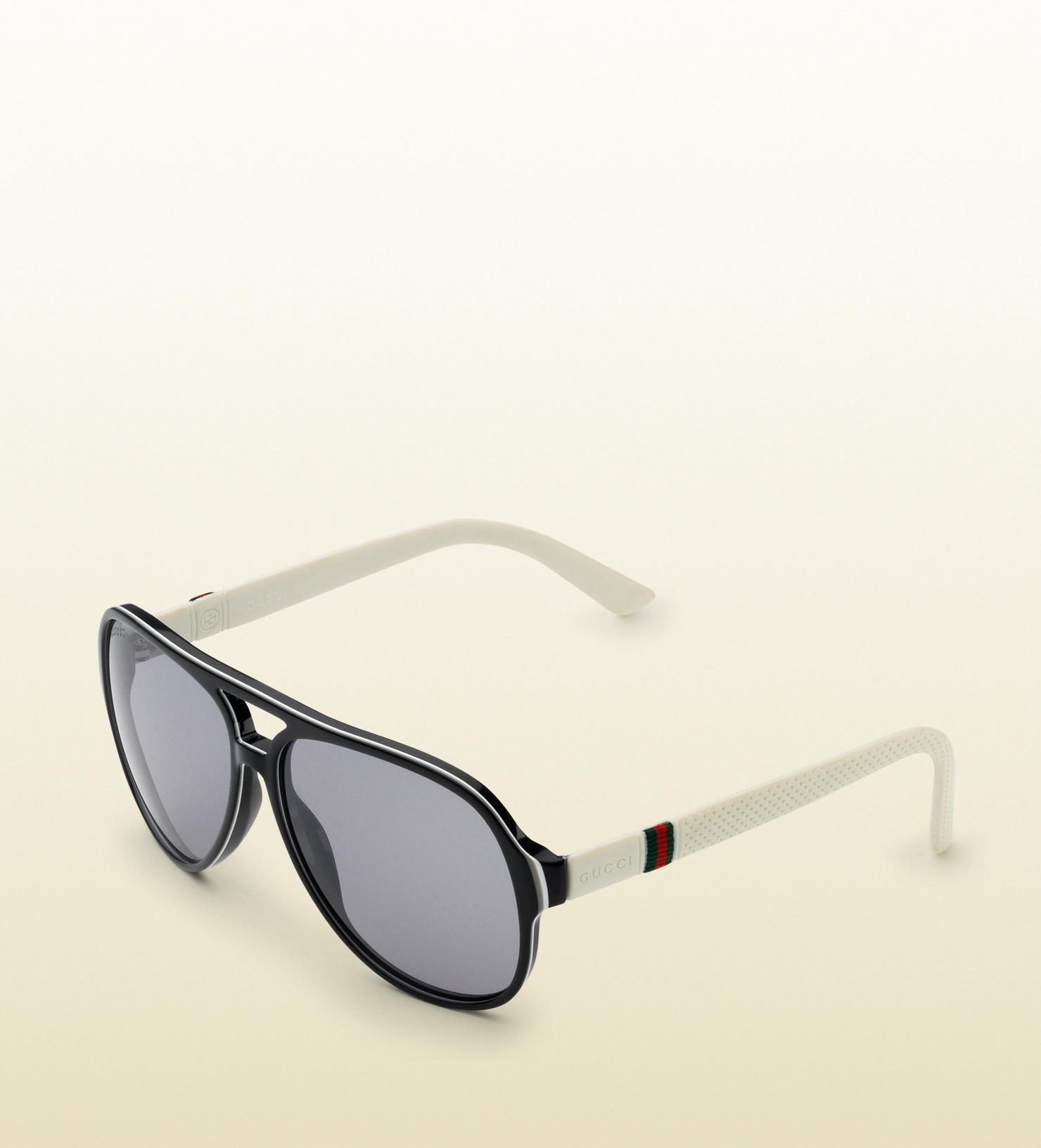 e3d7892f5e1 Gucci Acetate Aviator Sunglasses « Heritage Malta