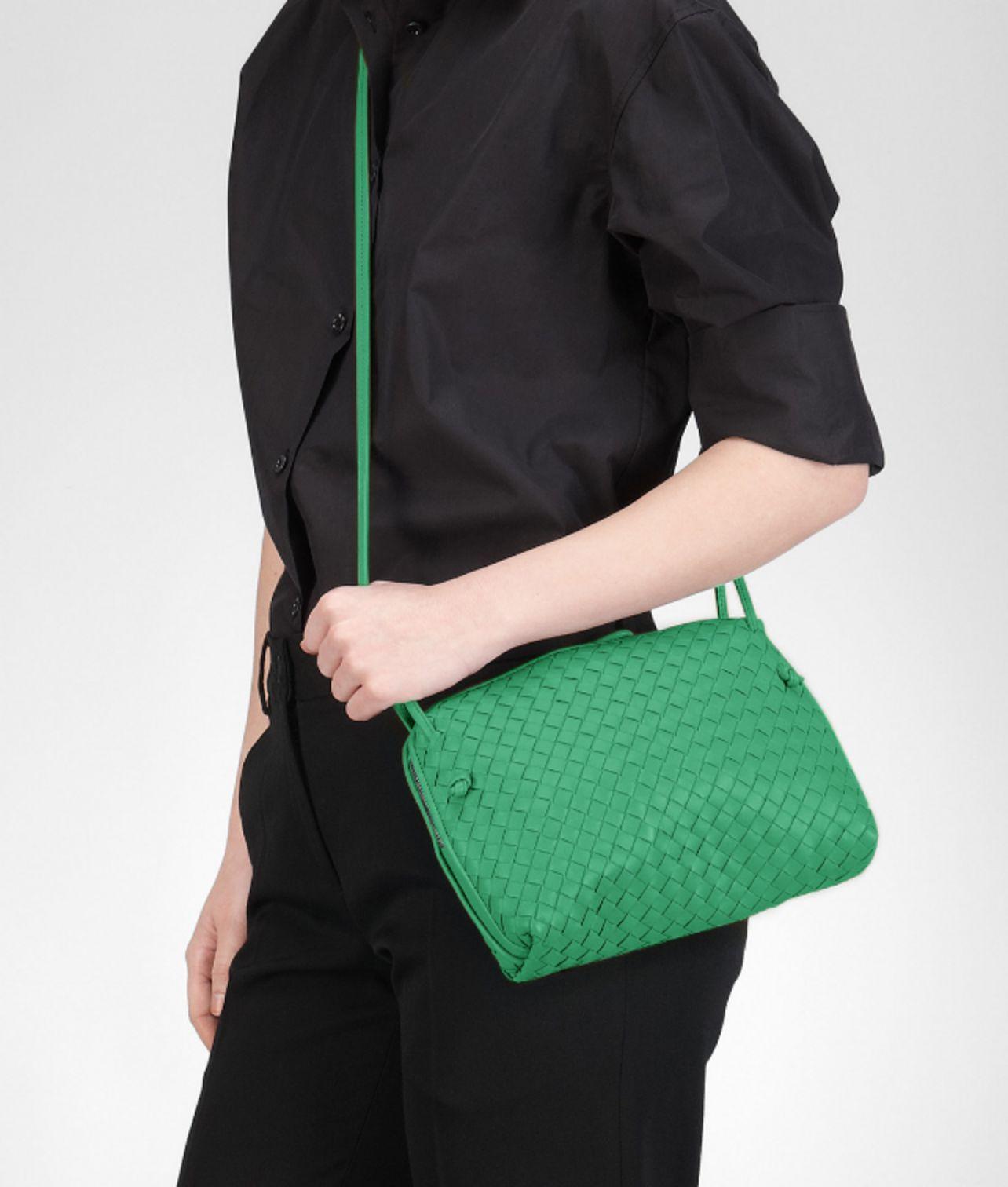 Bottega veneta Tr  fle Intrecciato Nappa Cross Body Bag in Green . 0caeb6ca45036