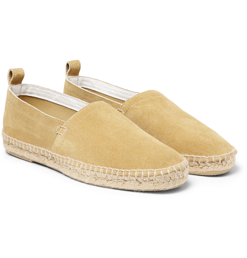 3b37a2920037f Lyst - Loewe Suede Espadrilles in Natural for Men