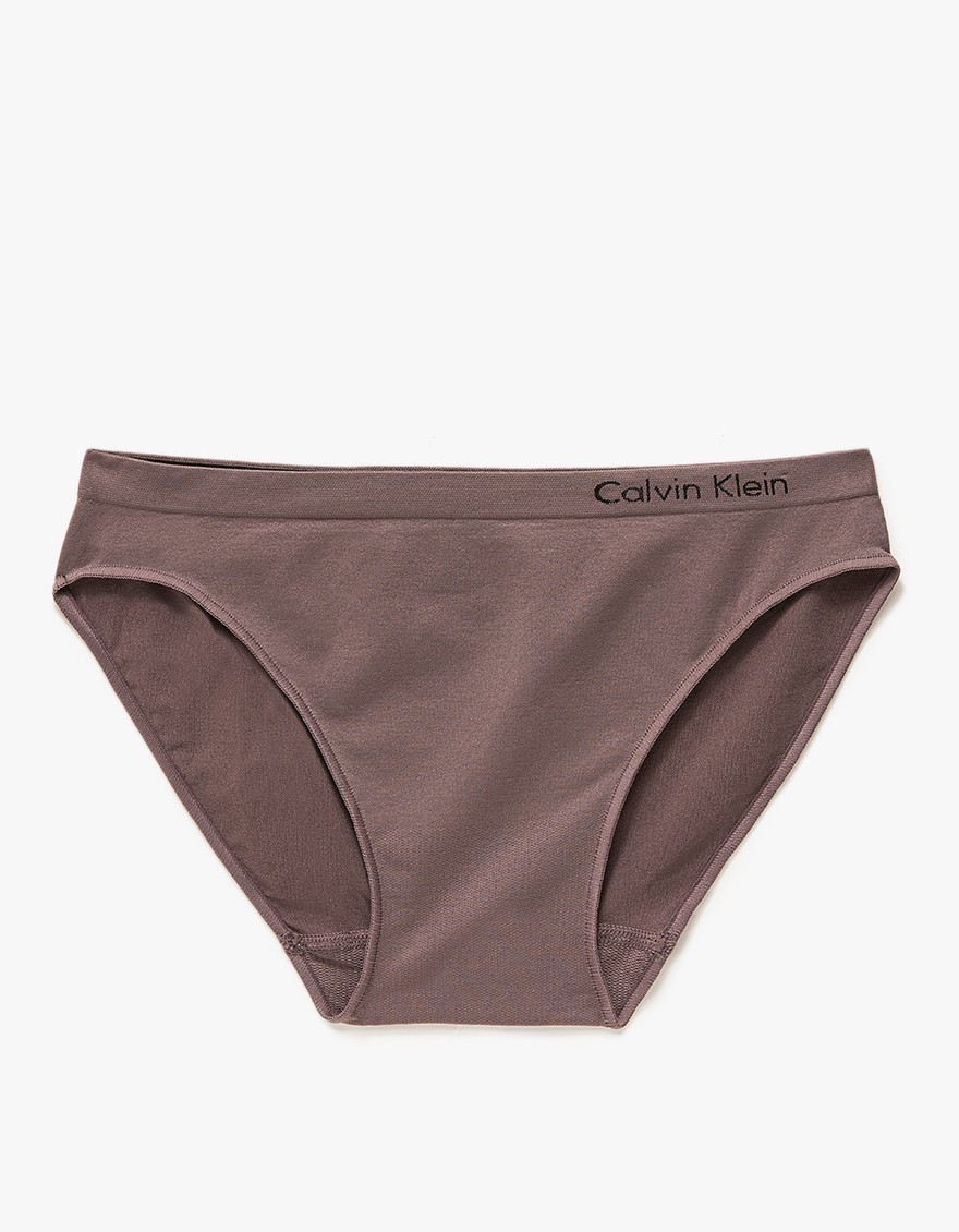 calvin klein pure seamless bikini in black lyst. Black Bedroom Furniture Sets. Home Design Ideas