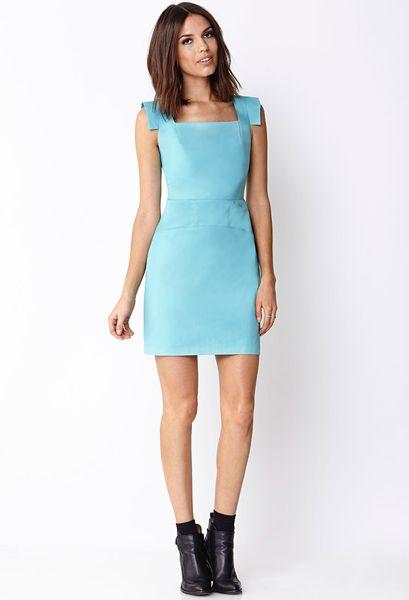 Chic Blue Dress Chic Sheath Dress in Blue