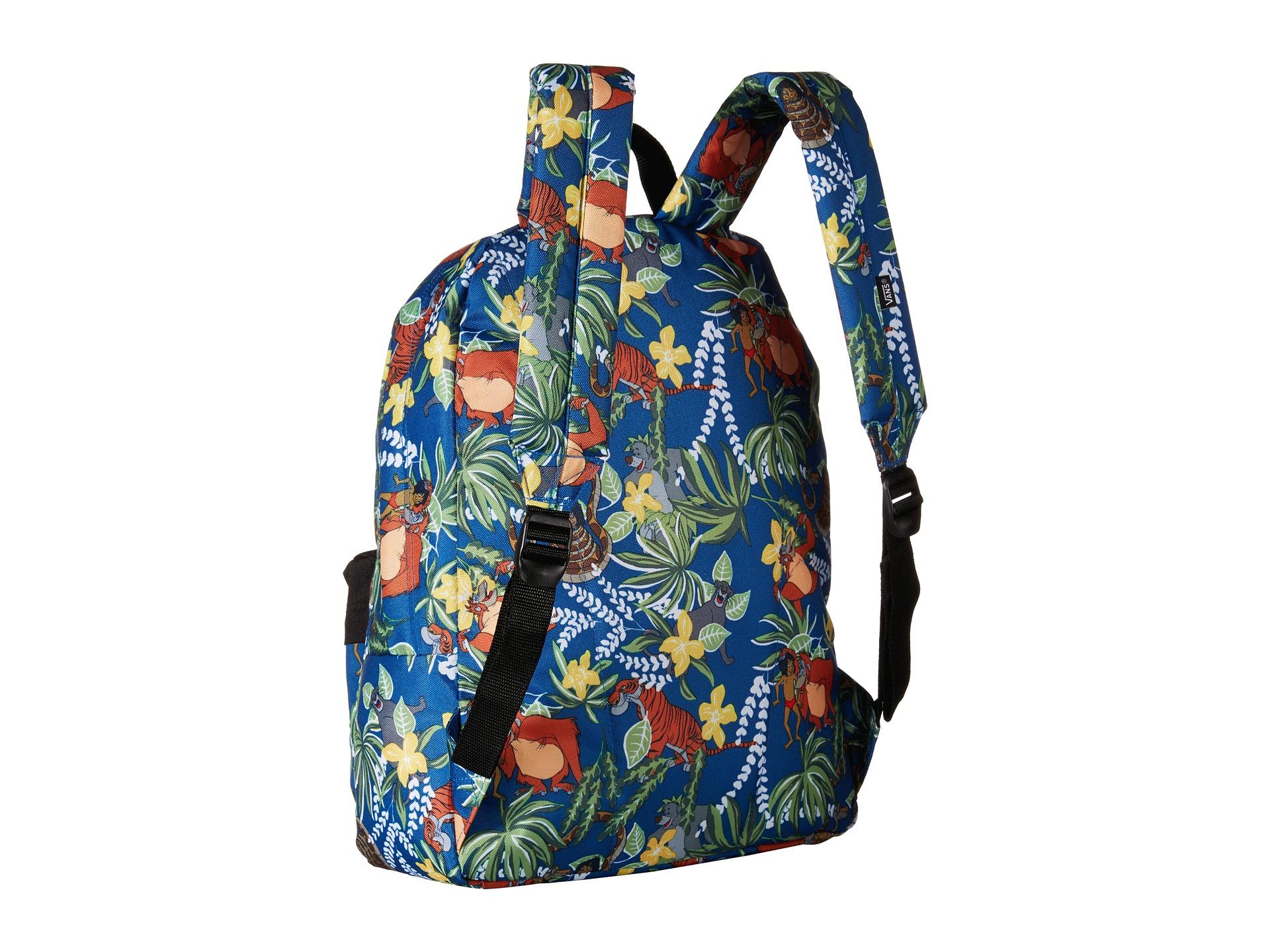 vans old skool ii backpack in blue for men lyst
