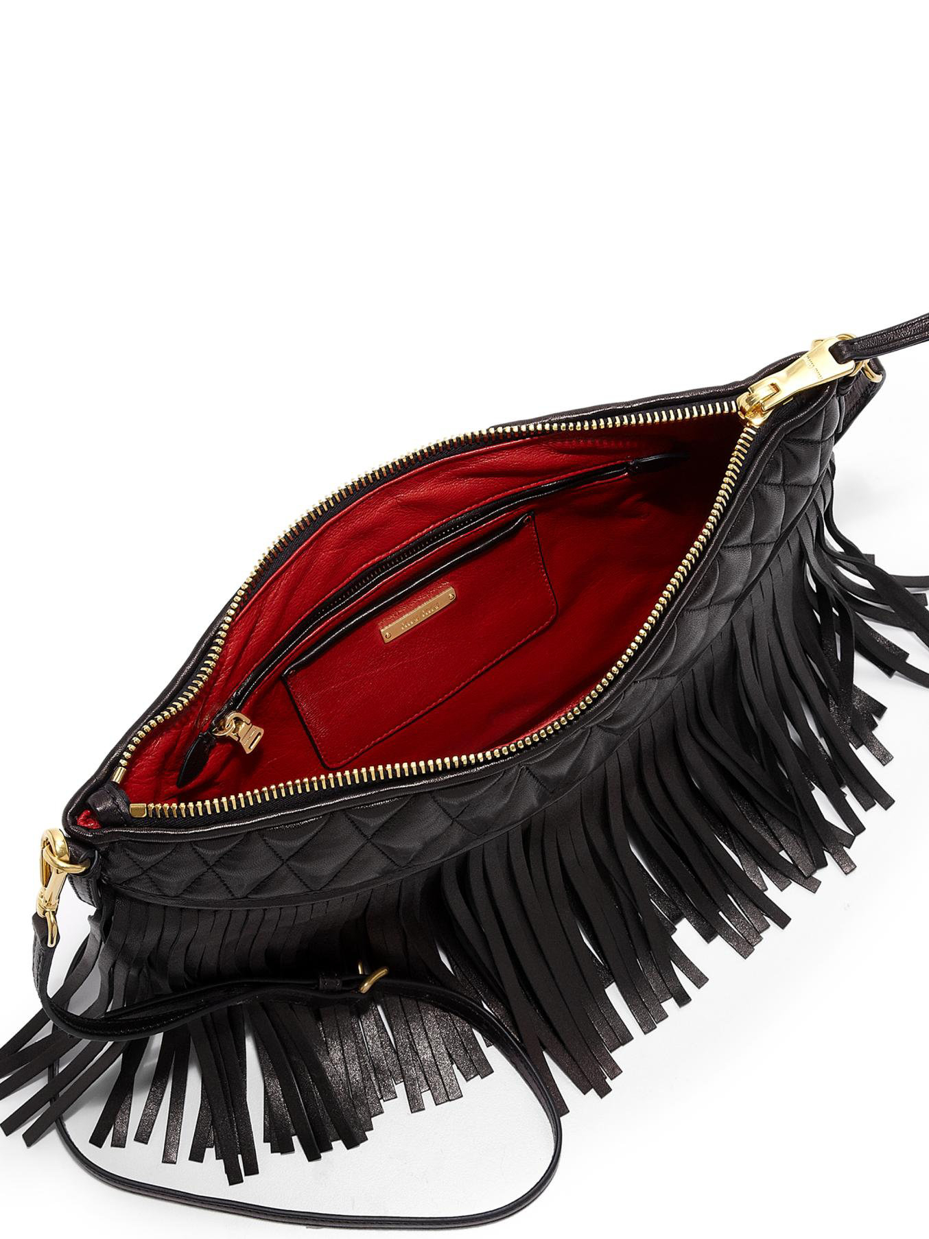 53071206416 Gallery. Previously sold at  Saks Fifth Avenue · Women s Fringed Bags  Women s Miu ...