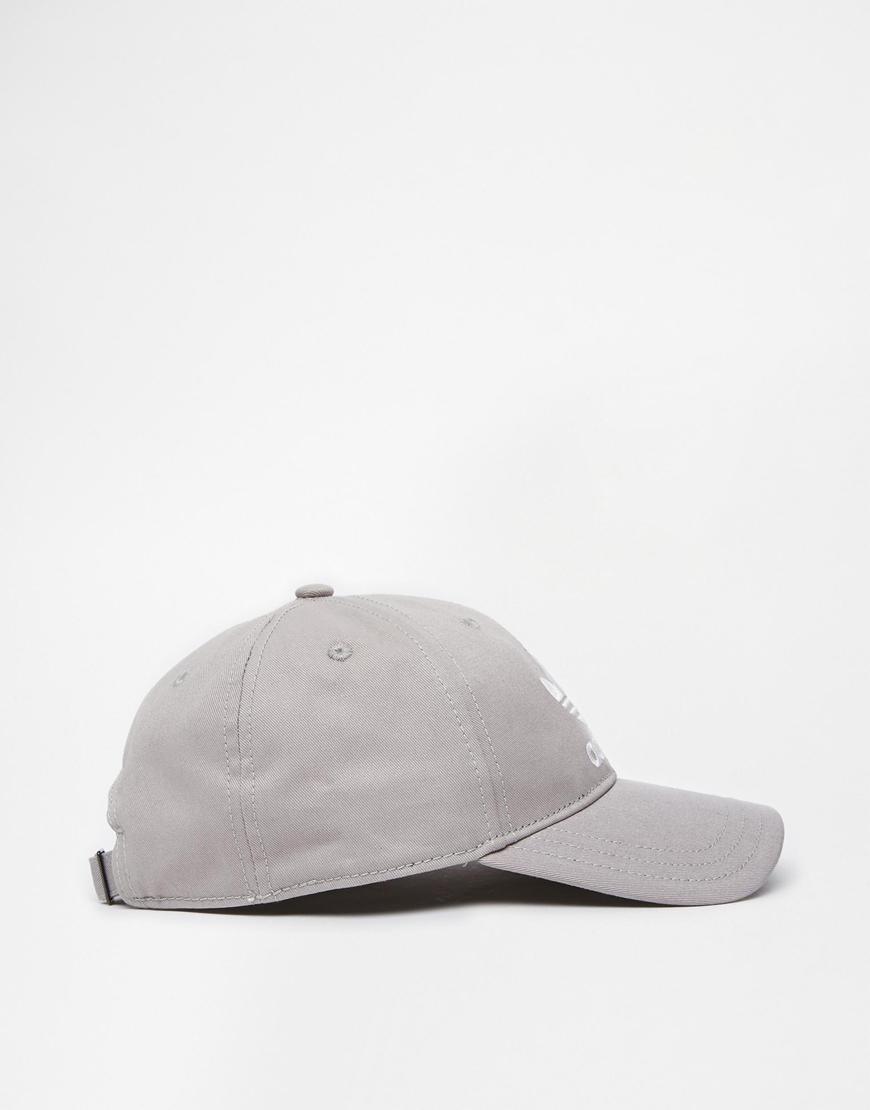 54b121033d532 ... spain lyst adidas originals classic snapback cap in gray for men 2419c  a54dd
