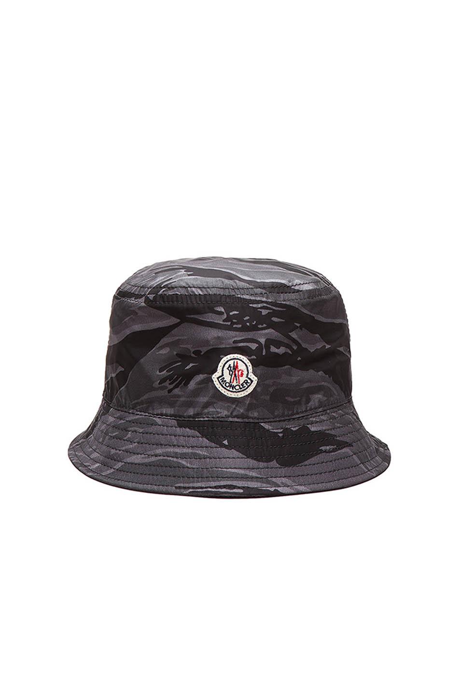 461048564af Lyst - Moncler Men S Bucket Hat in Purple