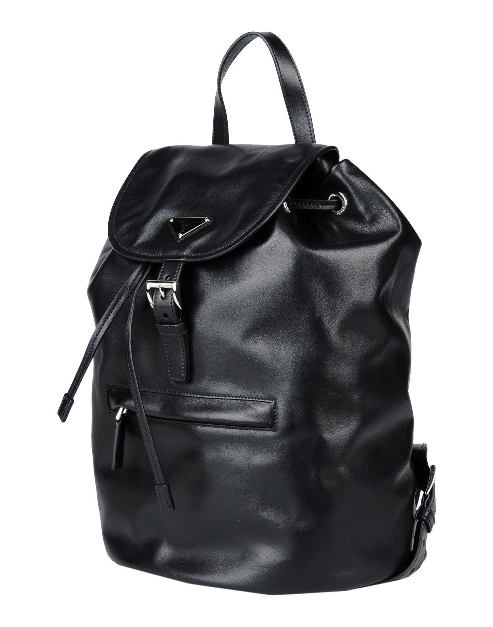 Prada Rucksacks \u0026amp; Bumbags in Black | Lyst