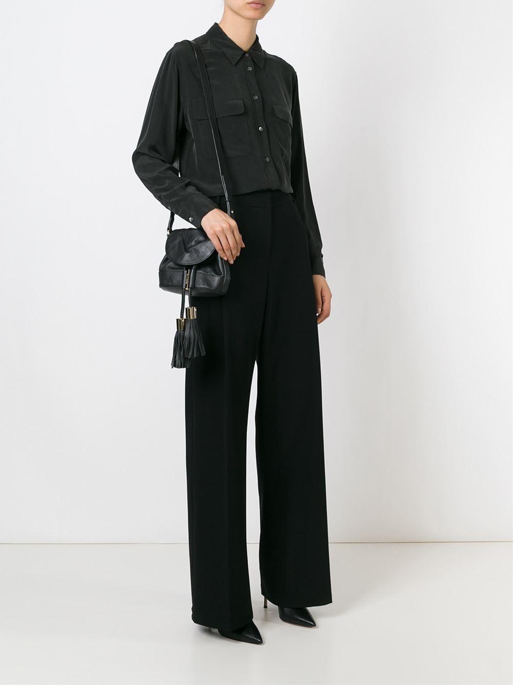 See by chlo�� Mini Vicki Bag in Black | Lyst