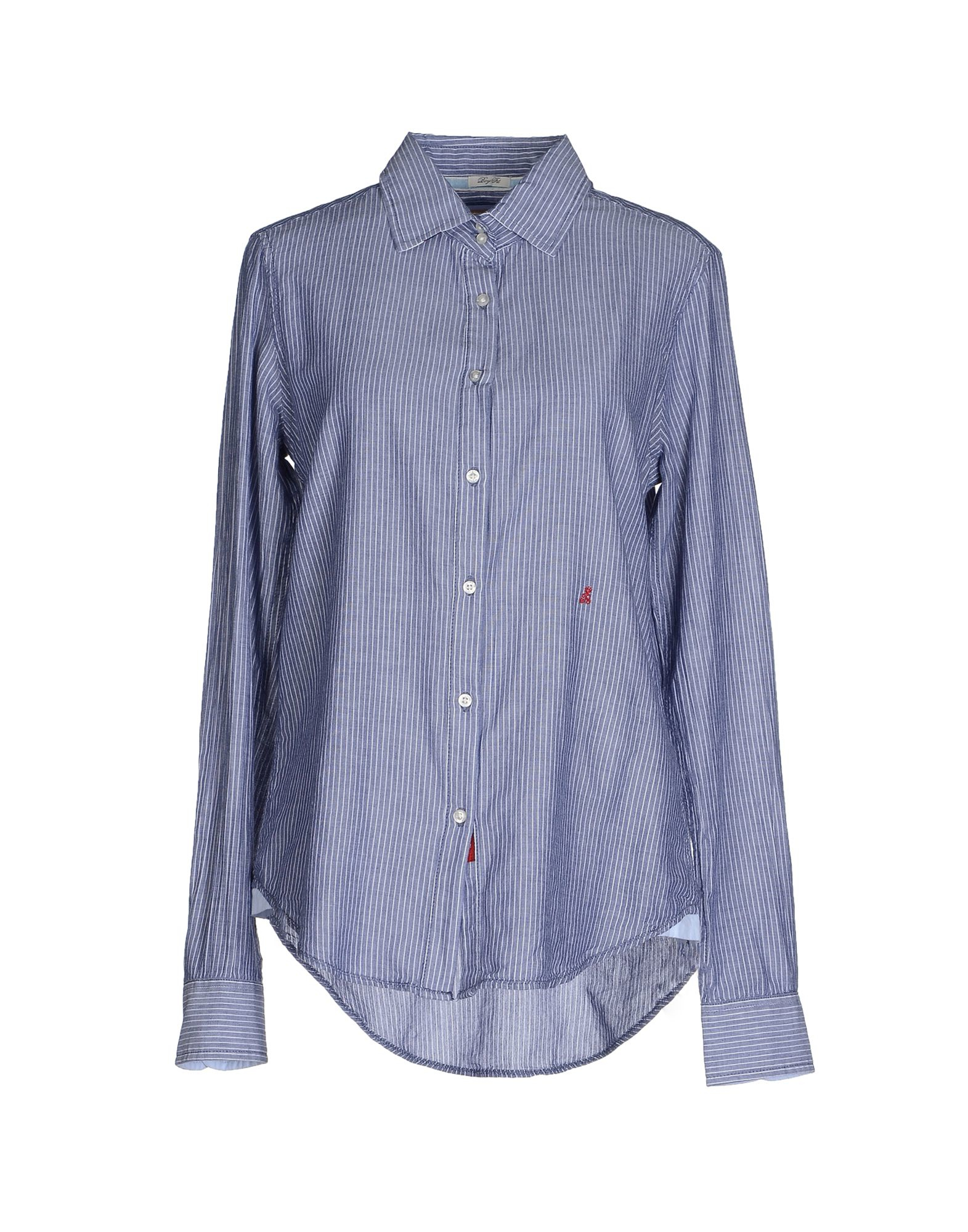 Replay Shirt In Blue Lyst