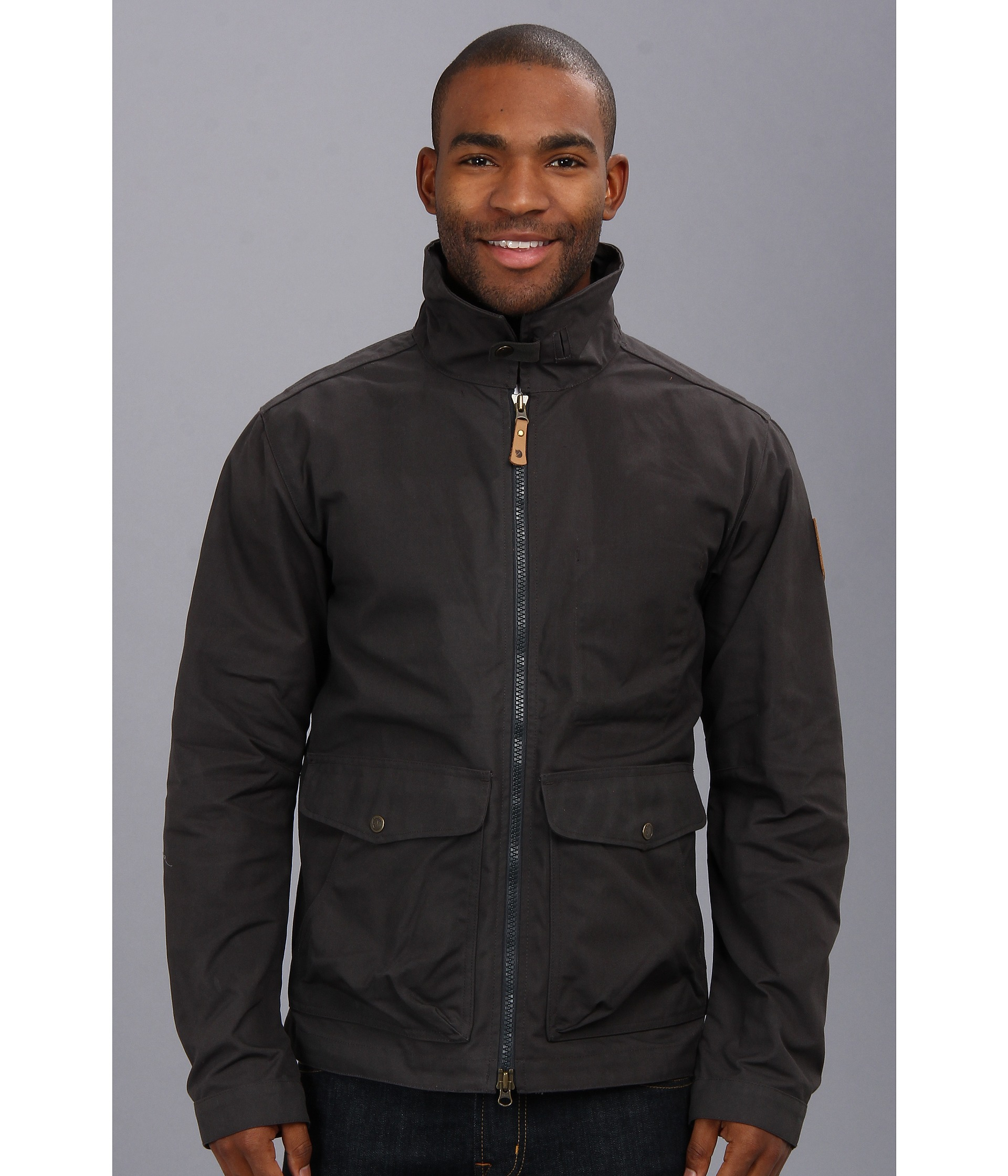 Fjallraven Övik Short Jacket in Gray for Men | Lyst