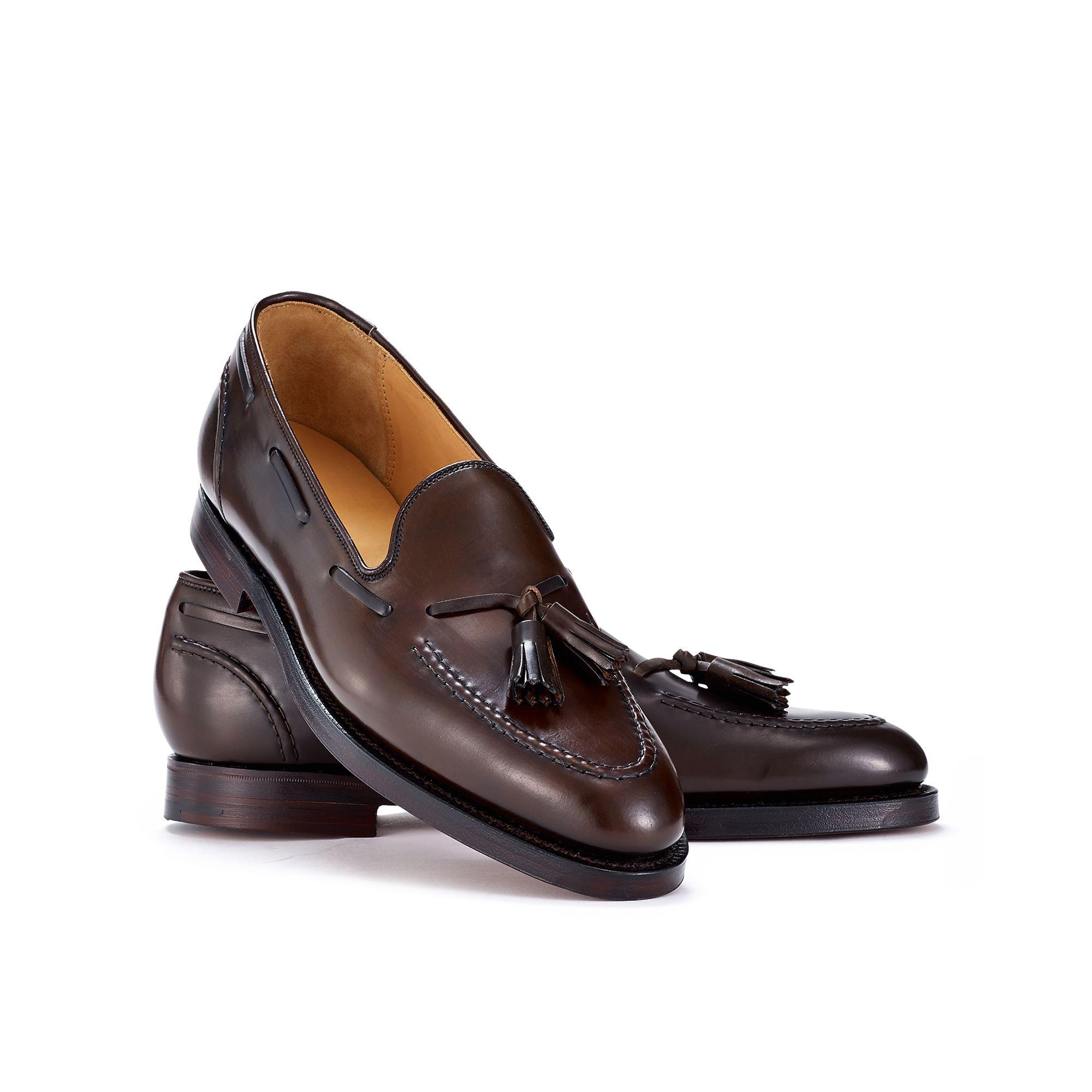 d4f231c88 Ralph Lauren Cordovan Marlow Tassel Loafer in Brown for Men - Lyst