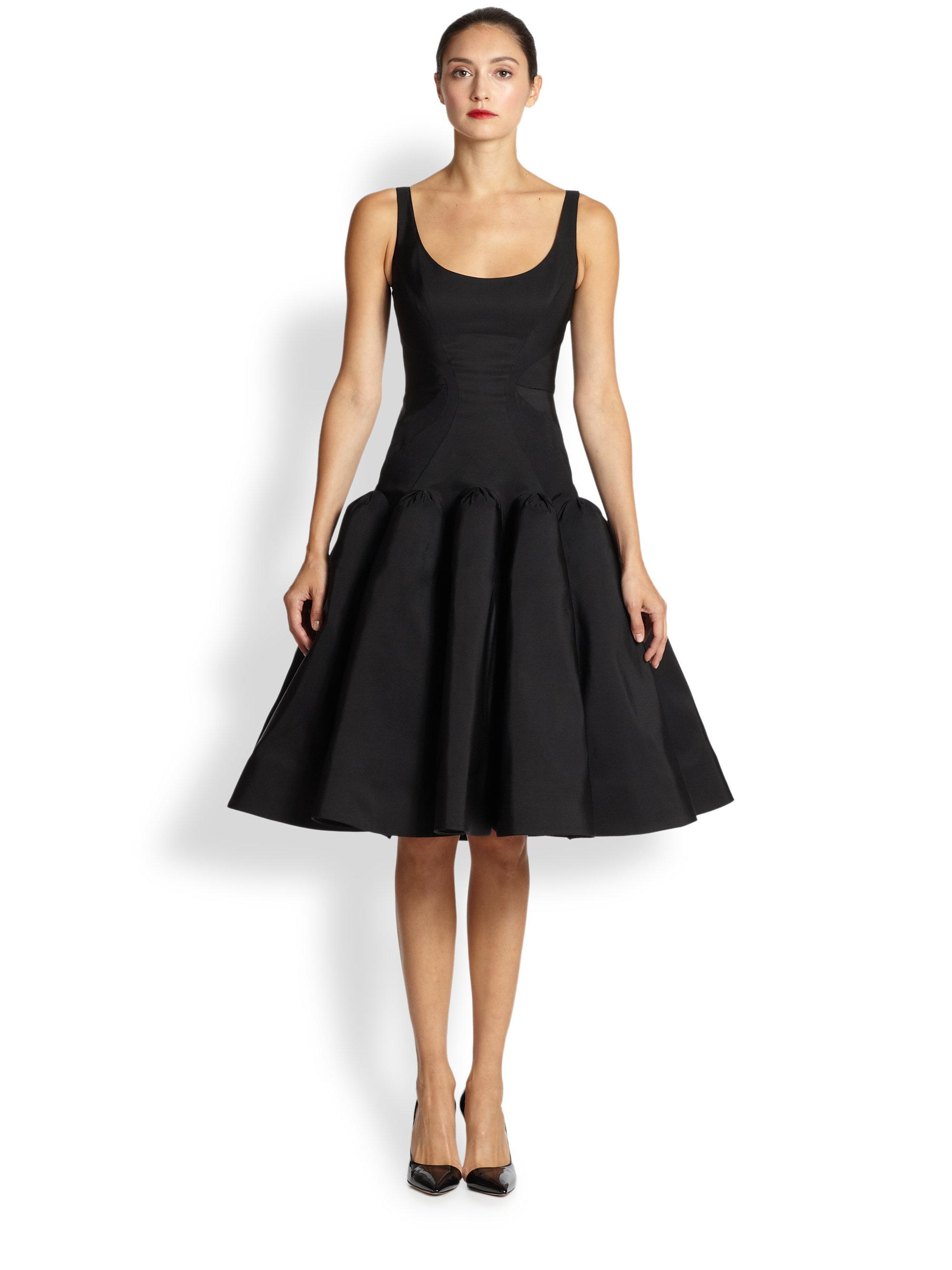Black ballerina dress