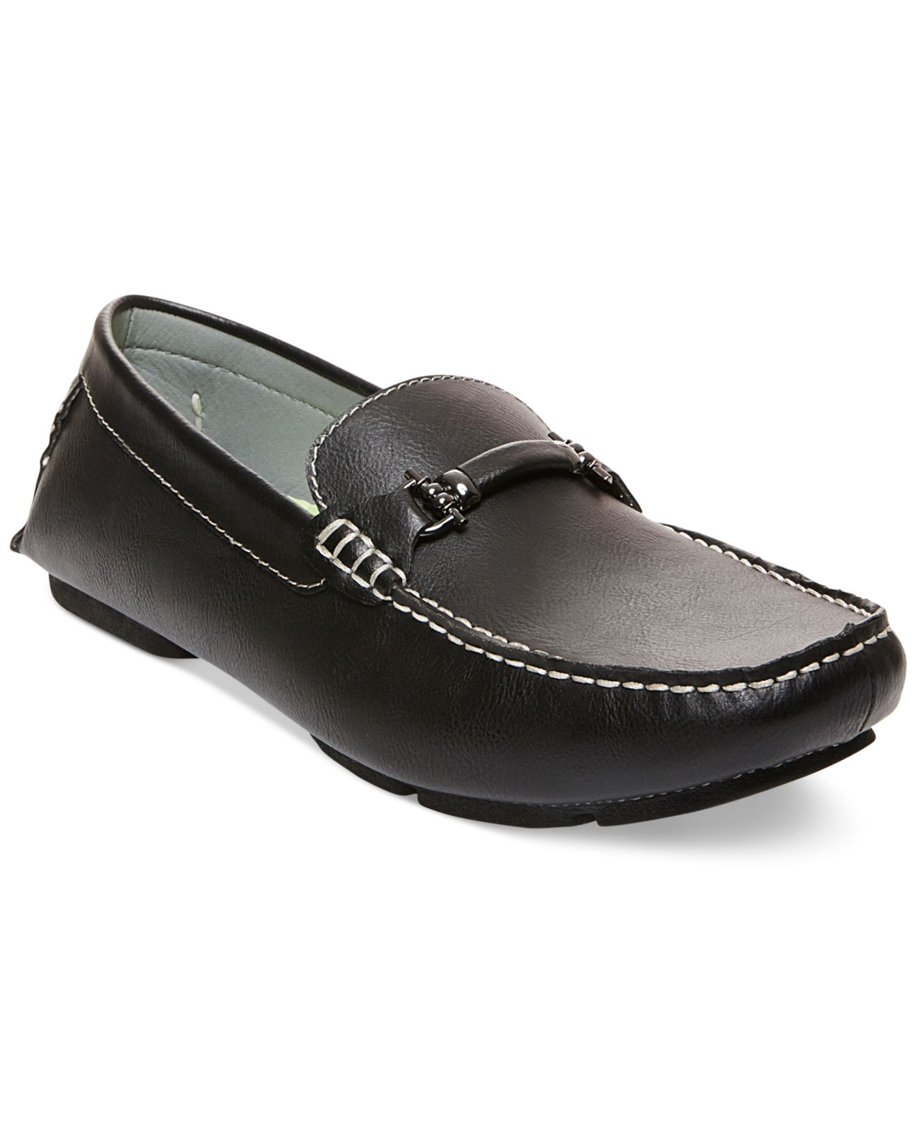 Steve madden Madden Trulow Loafers in Black for Men | Lyst
