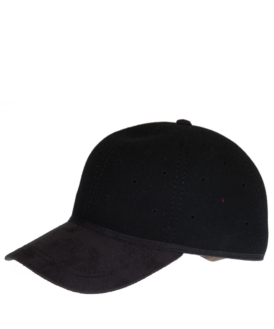 6c4be7b5 Christys' Black Perforated British Ball Cap in Black for Men - Lyst