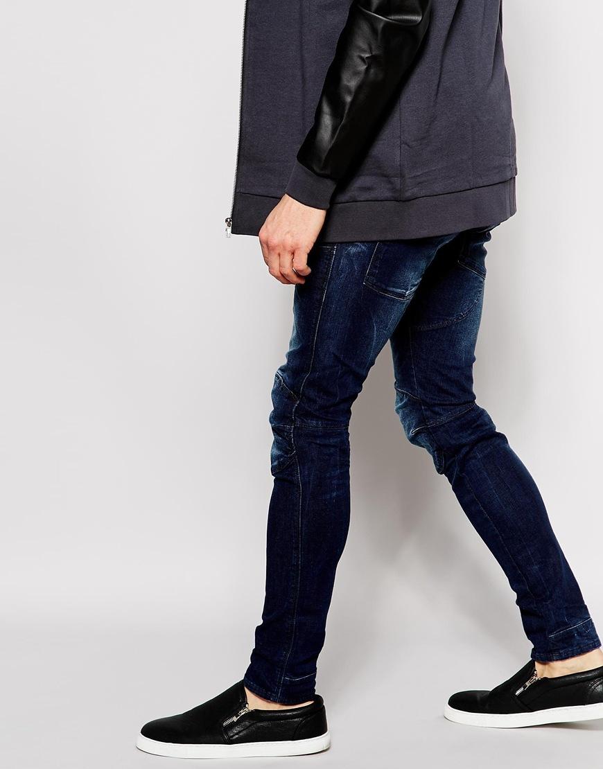 17dfbcf25ce G-Star RAW Jeans Elwood 5620 3d Super Slim Stretch Dark Aged in Blue for  Men - Lyst