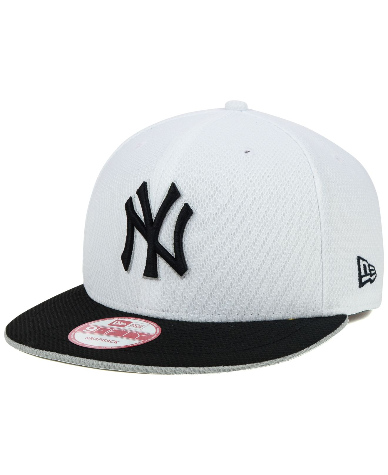 c6d5a309 ... best lyst ktz new york yankees white diamond era 9fifty snapback cap in  9cbbc d5e13