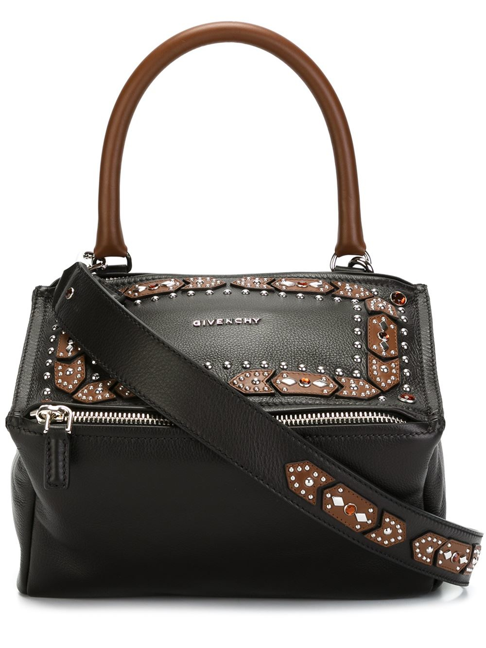 givenchy small pandora shoulder bag in black lyst