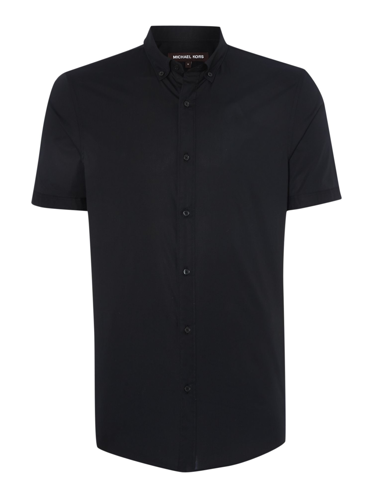 Little Black Dresses Start layering with a casual short sleeve or flannel over a graphic tee for the weekend or try a classic button down for work. Try all our fit options today. Layer a short sleeve button up shirt on top of a plain tee with shorts or chinos. And don't be afraid to pick a bold print or pattern like floral and button it.
