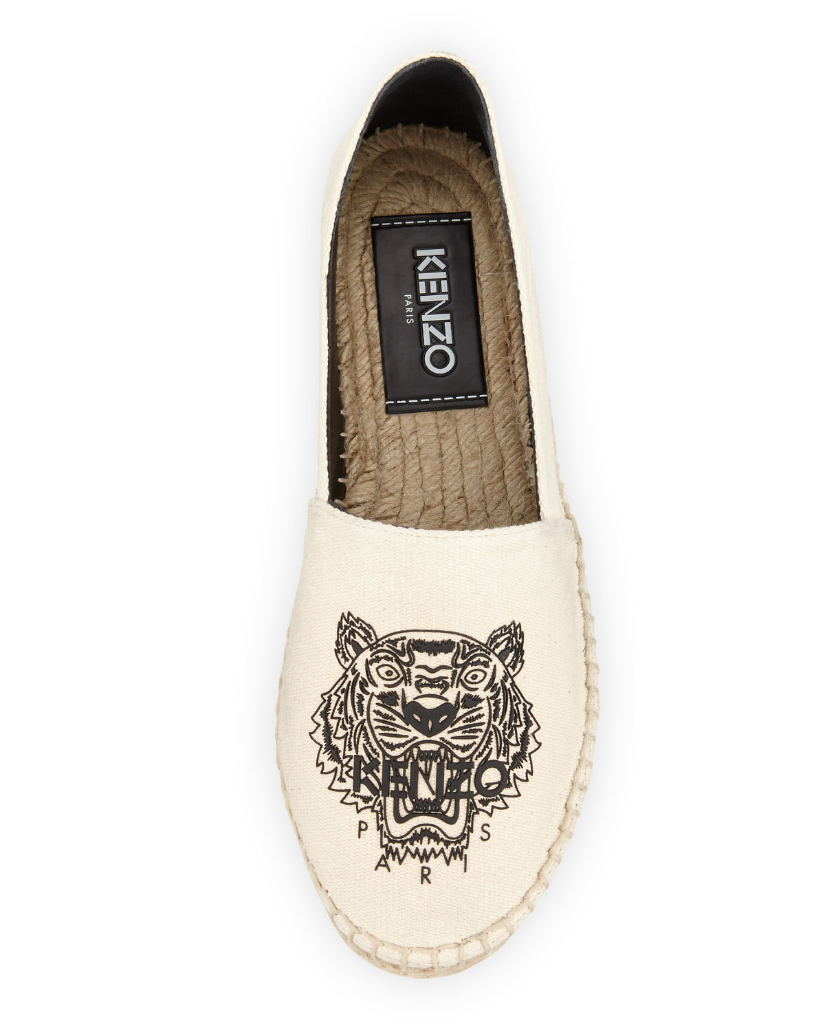 Outlet With Paypal Order Kenzo Espadrilles With Tiger Embroidery Buy Cheap Hot Sale Outlet Choice Clearance Get Authentic Buy Cheap Reliable J6LhBW