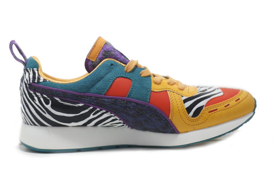 Puma Rs100 Animal in Red for Men