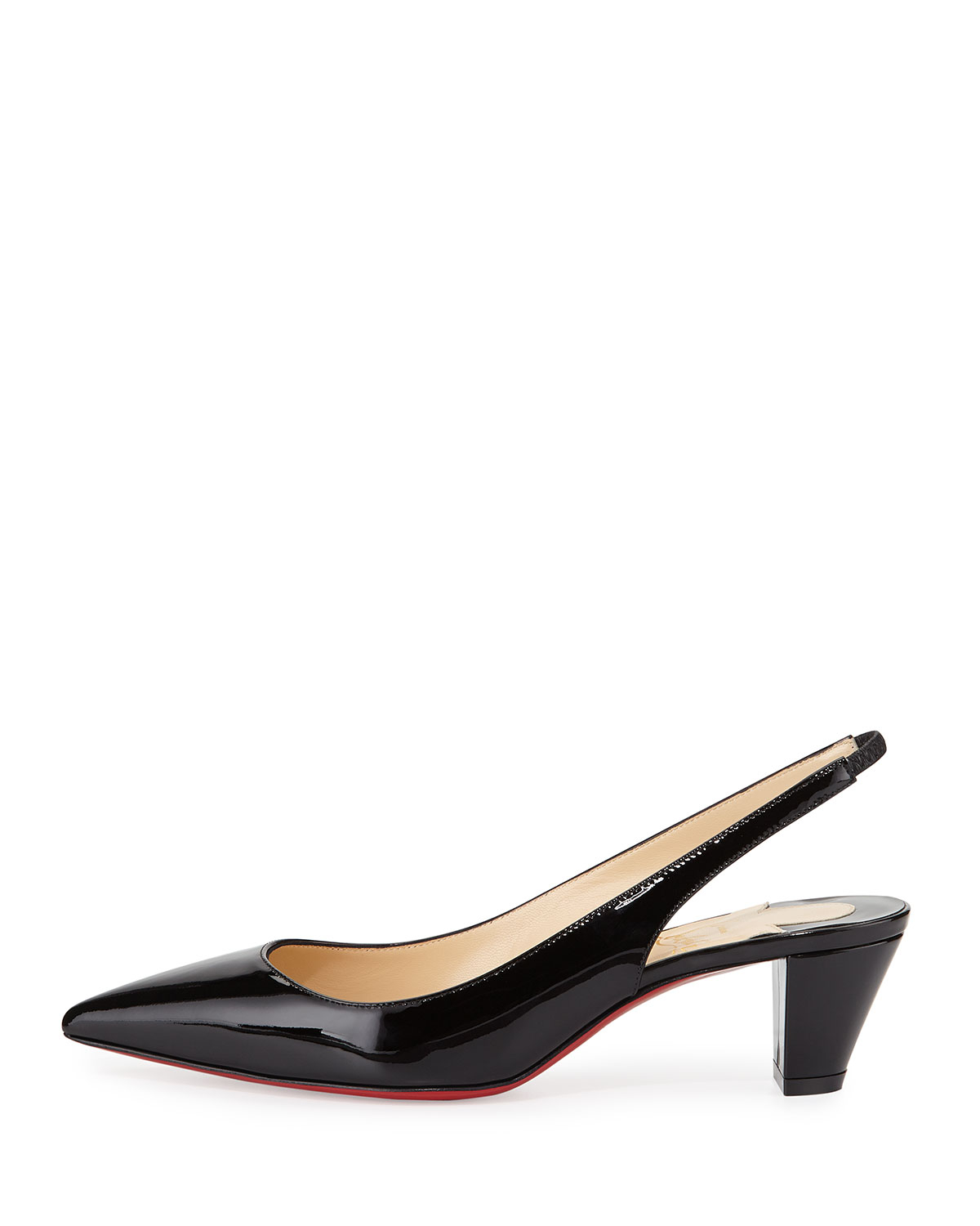 Black Slingback Dress Shoes