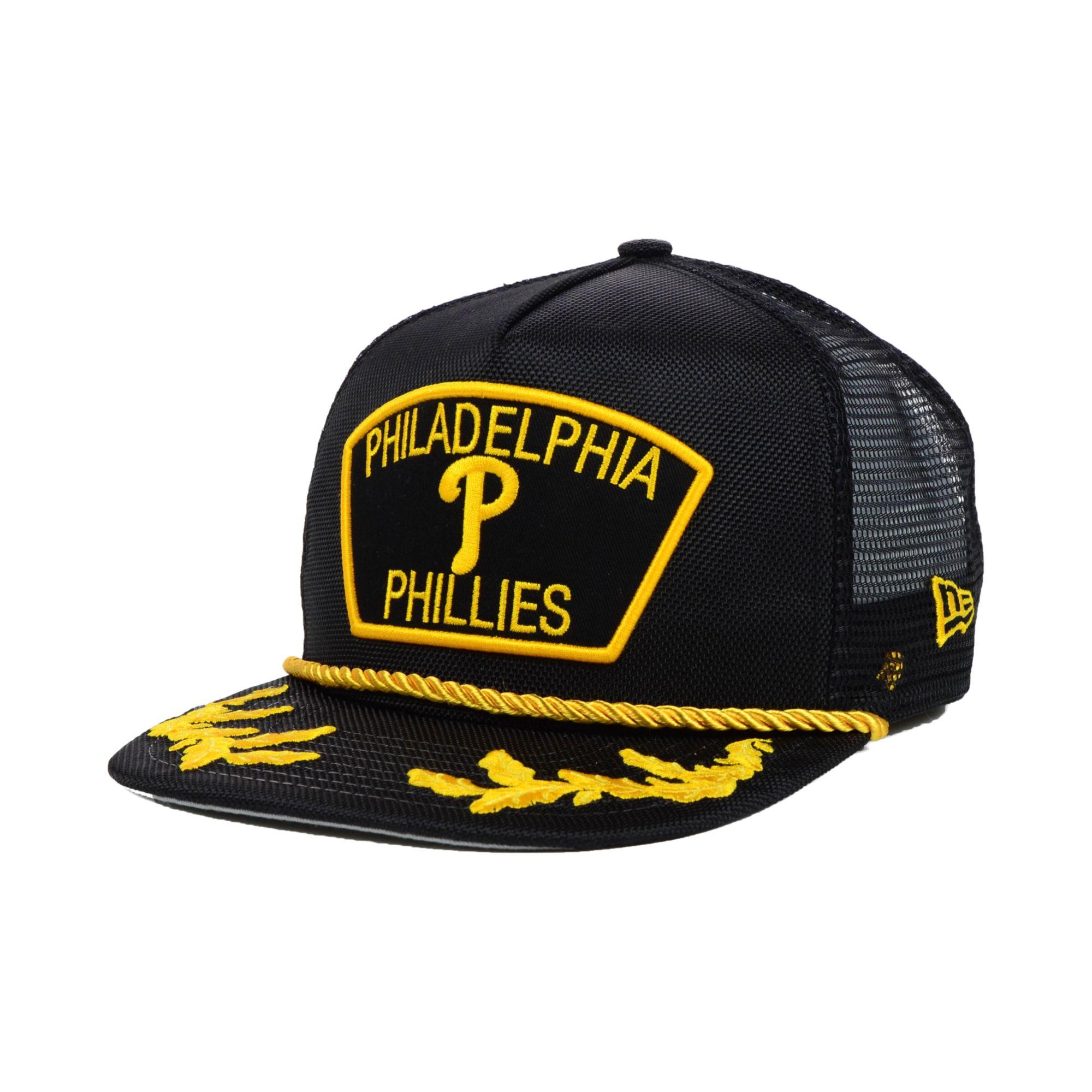 new product c2c87 a2e4c promo code lyst ktz philadelphia phillies mlb 9fifty snapback cap in black  2b508 b4d30